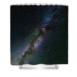 Shower Curtain featuring the photograph Milky Way Core by Bryan Carter