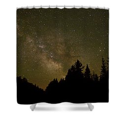 Milky Way In The Whites Shower Curtain
