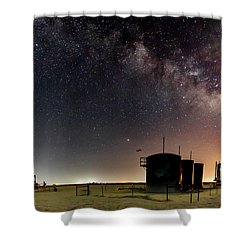 Milky Way Lease Shower Curtain