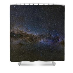 Milky Way South Shower Curtain