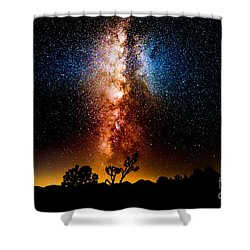 Milkyway Explosion Shower Curtain