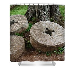 Mill Stone Shower Curtain by Eric Liller