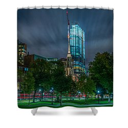 Millennium Construction Shower Curtain