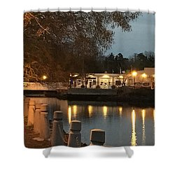 Milton By Night Shower Curtain