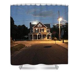 Milton Historic Collins  Shower Curtain