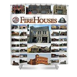 Milwaukee Fire Houses Shower Curtain