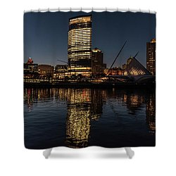Milwaukee Reflections Shower Curtain