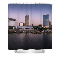Milwaukee Sky Shower Curtain