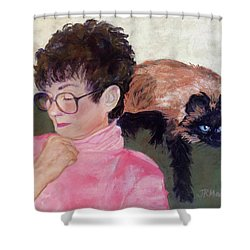 Mimi And Me Shower Curtain