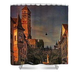 Shower Curtain featuring the photograph Main Square by Hanny Heim