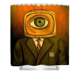 Mind Changer Shower Curtain by Leah Saulnier The Painting Maniac