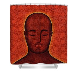 Mind Circles Shower Curtain