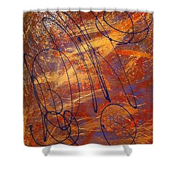 Mind Reflection  Shower Curtain