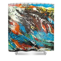 Mind Trip Shower Curtain