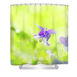 Mindful Moment Shower Curtain