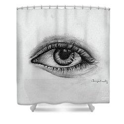 Minds Eye Shower Curtain