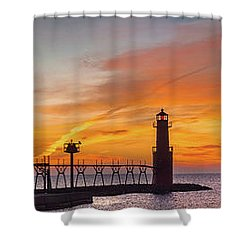 Shower Curtain featuring the photograph Mine Eyes Have Seen The Glory by Bill Pevlor
