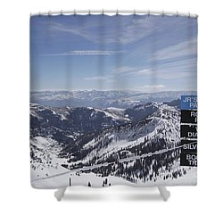 Mineral Basin Shower Curtain