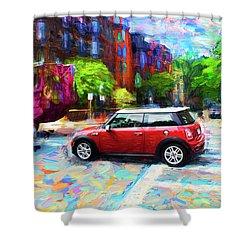 Mini Cooper Series 3 Shower Curtain