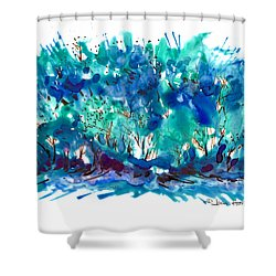 Mini Grove Shower Curtain