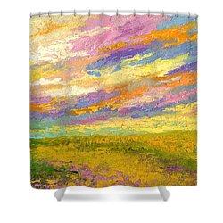 Mini Landscape V Shower Curtain