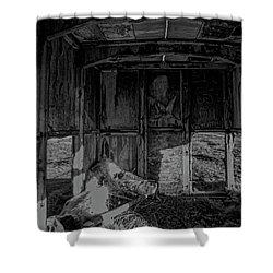 Mini Urbex Shower Curtain