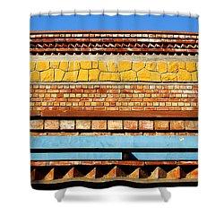 Minimal Sundae Shower Curtain by Prakash Ghai
