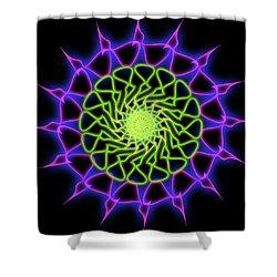Minimal Trance Shower Curtain