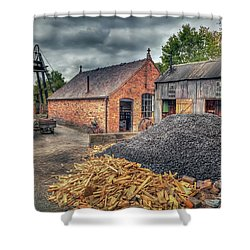 Shower Curtain featuring the photograph Mining Village by Adrian Evans