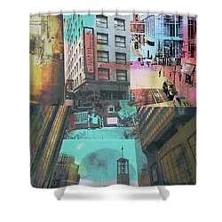 Minneapolis City Life Shower Curtain