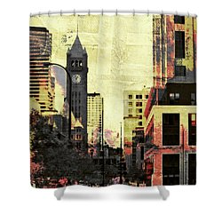 Minneapolis Clock Tower Shower Curtain