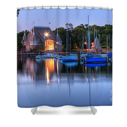 Minneapolis Skyline Photography Shower Curtain