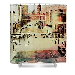 Minneapolis  Streets  4 Shower Curtain