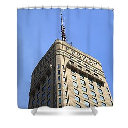 Shower Curtain featuring the photograph Minneapolis Tower 6 by Frank Romeo
