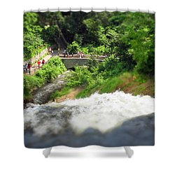 Minnehaha Falls From Above Shower Curtain