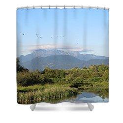 Minnekhada Park Shower Curtain