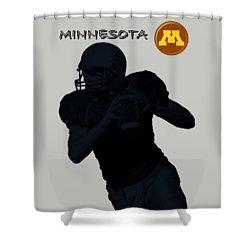 Minnesota Football Shower Curtain by David Dehner