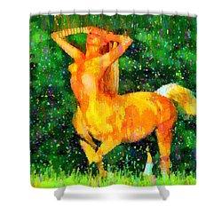 Minogirl - Da Shower Curtain