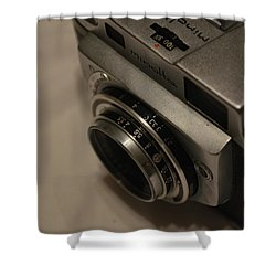 Minolta A Shower Curtain