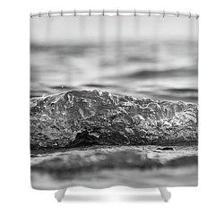 Shower Curtain featuring the photograph Minor Splash by Rico Besserdich