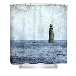 Minot Ledge Light Shower Curtain