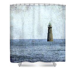 Minot Ledge Light Shower Curtain
