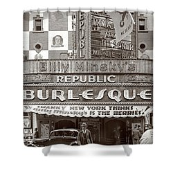Minsky's Burlesque Theater New York Shower Curtain