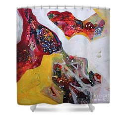 Mirage V Shower Curtain