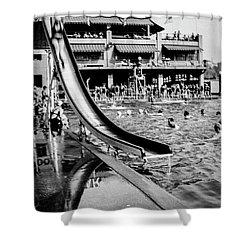 Miramar Pool  Shower Curtain