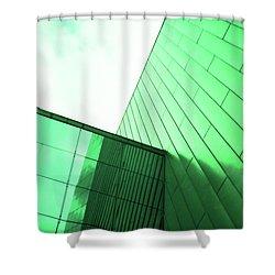 Mirror Building 2 Shower Curtain