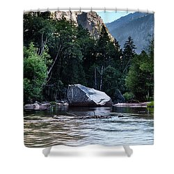 Mirror Lake- Shower Curtain