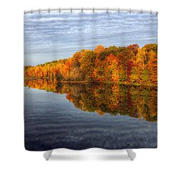 Mirror Mirror On The Fall Shower Curtain