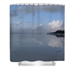 Mirror Ocean Water Shower Curtain