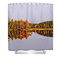 Mirror Of Beauty Shower Curtain